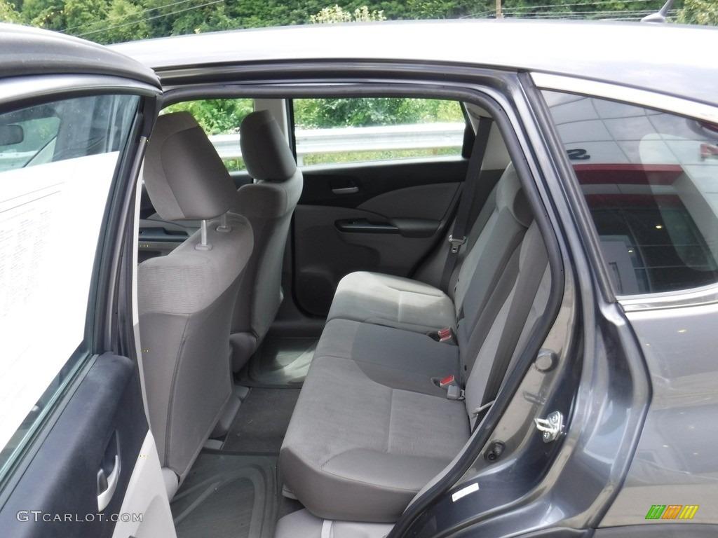 2014 CR-V LX AWD - Polished Metal Metallic / Gray photo #21