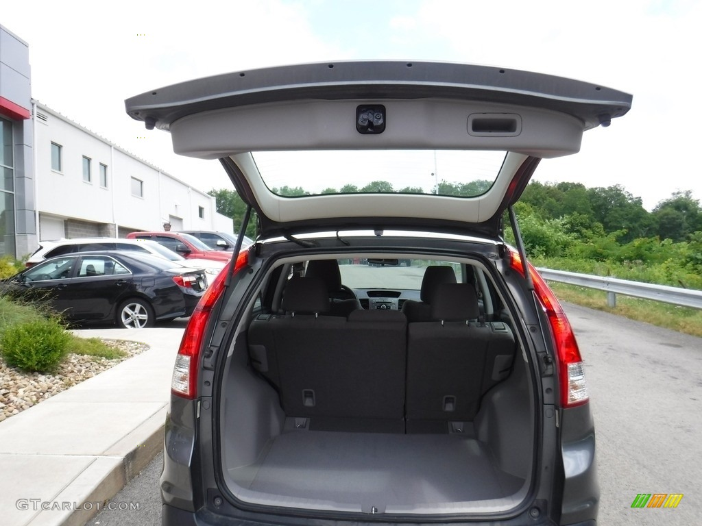 2014 CR-V LX AWD - Polished Metal Metallic / Gray photo #22