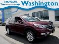 2016 Basque Red Pearl II Honda CR-V EX AWD #134139278