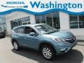 2016 Mountain Air Metallic Honda CR-V EX AWD  photo #1