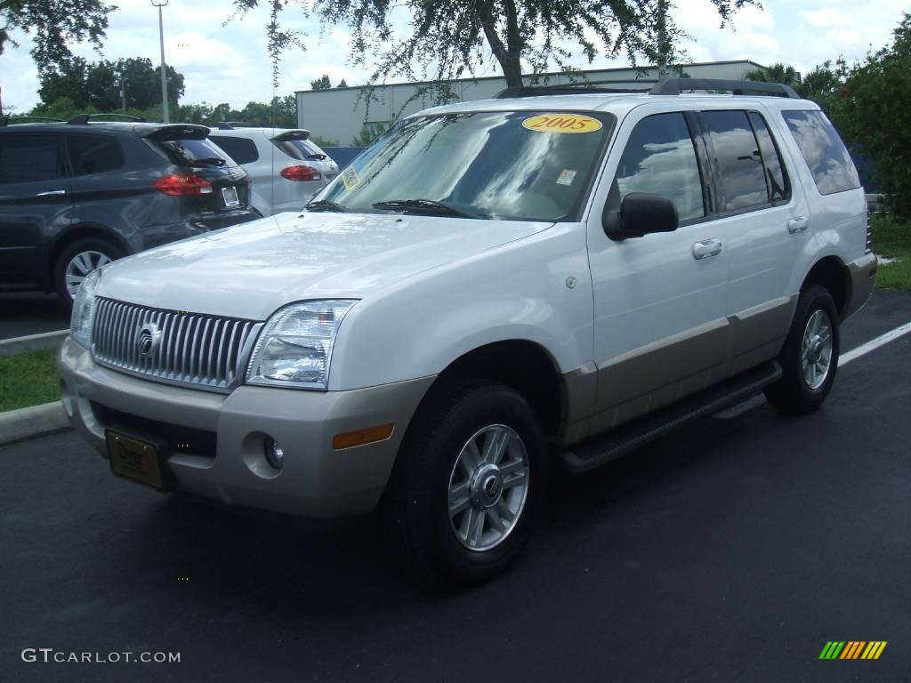 2005 Oxford White Mercury Mountaineer V6 Awd 13360490 Car Color Galleries