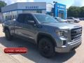 Satin Steel Metallic 2019 GMC Sierra 1500 Elevation Double Cab 4WD
