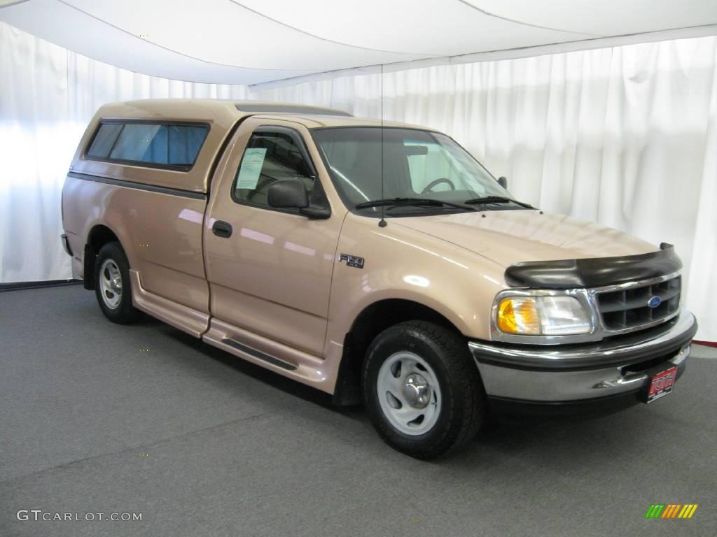 1997 light prairie tan metallic ford f150 xl regular cab. Black Bedroom Furniture Sets. Home Design Ideas