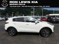 Clear White 2020 Kia Sportage LX AWD