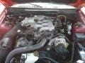 2001 Laser Red Metallic Ford Mustang V6 Convertible  photo #12