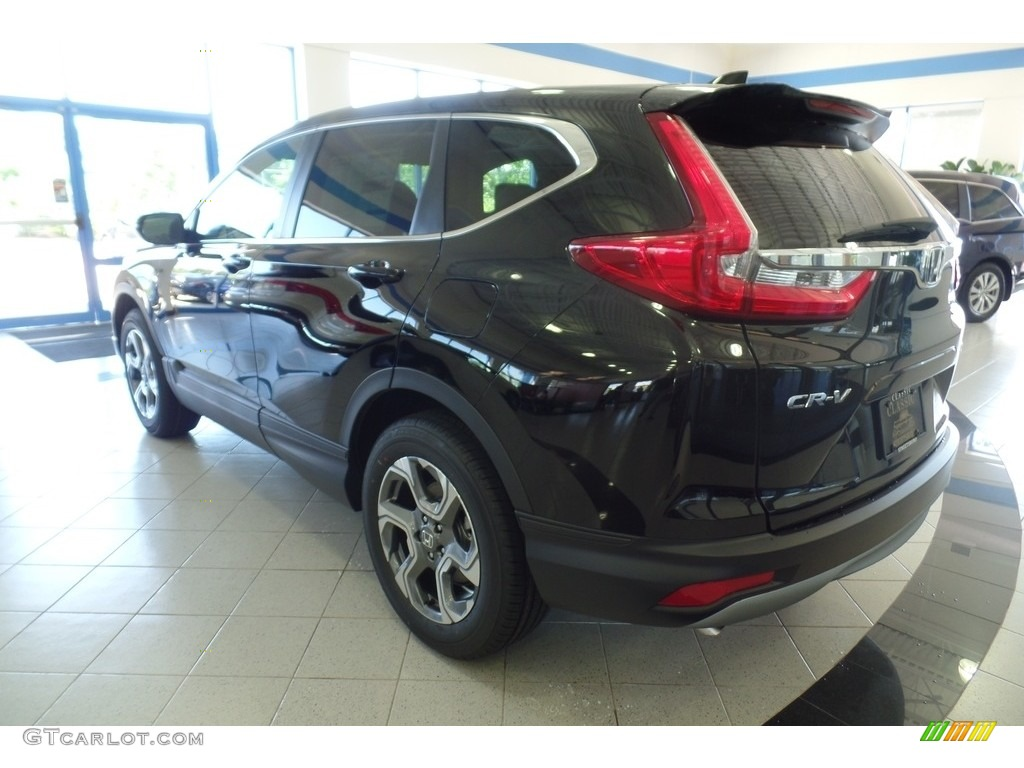 2019 CR-V EX-L - Crystal Black Pearl / Black photo #2