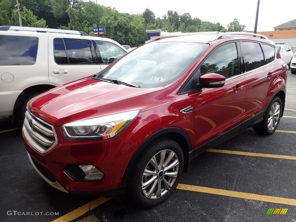 Ruby Red Ford Escape