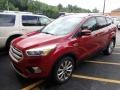 2017 Ruby Red Ford Escape Titanium 4WD #134187735