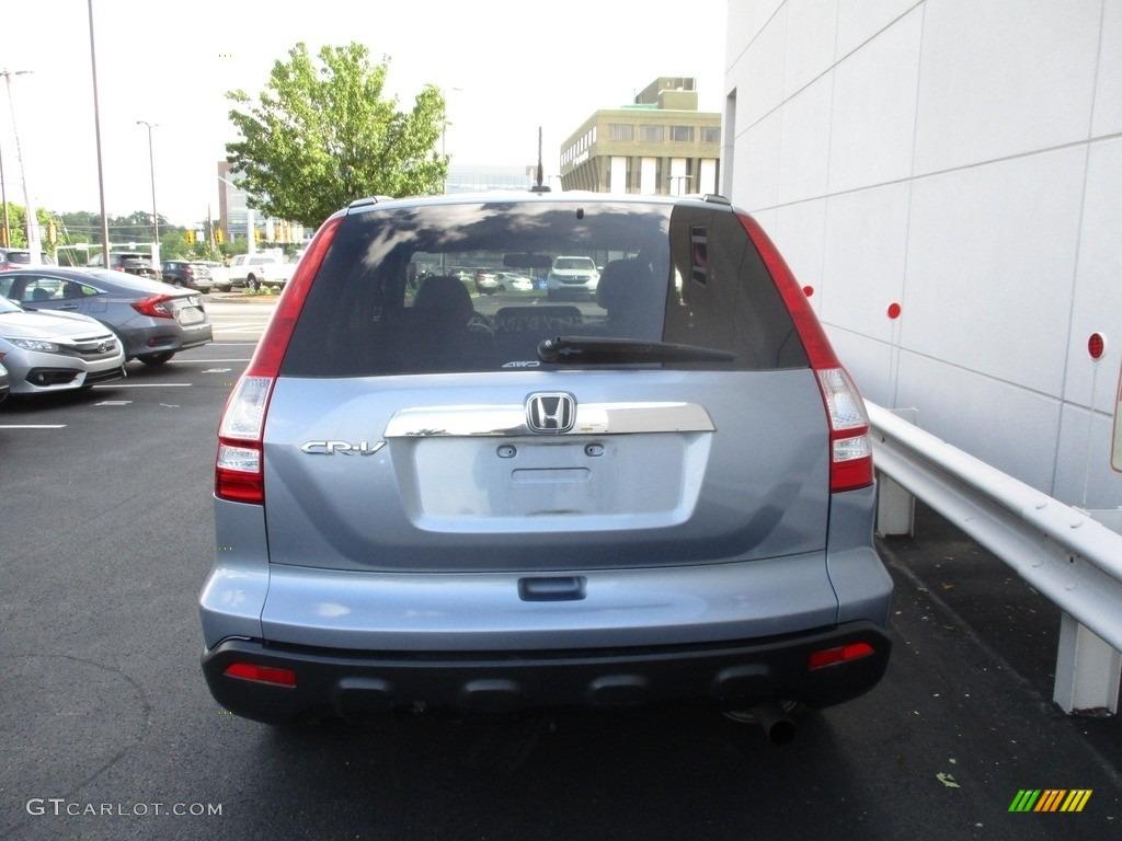 2009 CR-V EX-L 4WD - Glacier Blue Metallic / Gray photo #4