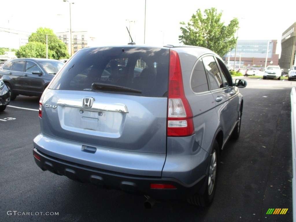 2009 CR-V EX-L 4WD - Glacier Blue Metallic / Gray photo #5