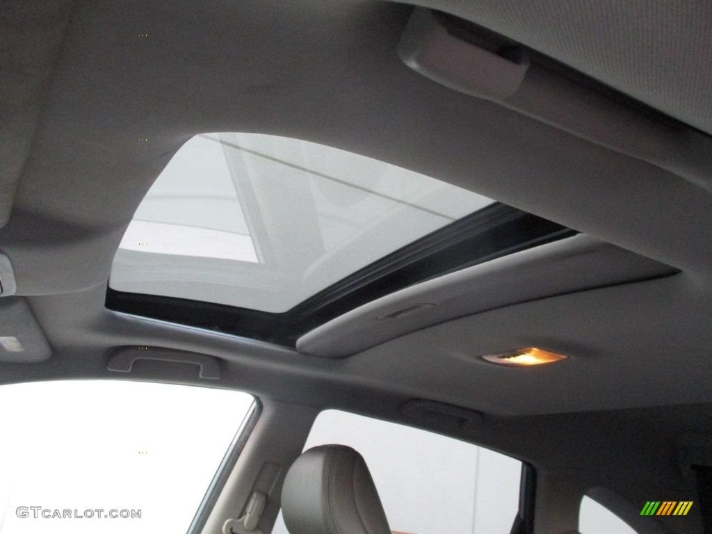 2009 CR-V EX-L 4WD - Glacier Blue Metallic / Gray photo #11