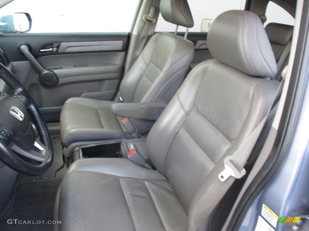 2009 CR-V EX-L 4WD - Glacier Blue Metallic / Gray photo #12
