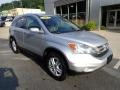 2011 Alabaster Silver Metallic Honda CR-V EX-L 4WD  photo #9