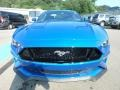 2019 Velocity Blue Ford Mustang GT Premium Fastback  photo #8