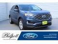 Blue Metallic 2019 Ford Edge SEL