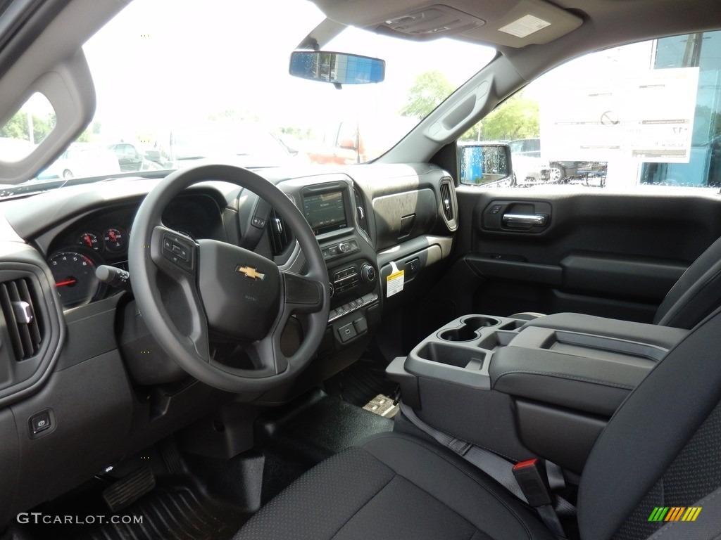 2019 Silverado 1500 WT Regular Cab - Shadow Gray Metallic / Jet Black photo #6