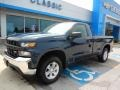 2019 Northsky Blue Metallic Chevrolet Silverado 1500 WT Regular Cab 4WD #134209525