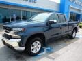 2019 Northsky Blue Metallic Chevrolet Silverado 1500 LT Double Cab 4WD #134209522