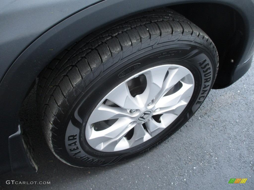 2012 CR-V EX-L 4WD - Urban Titanium Metallic / Gray photo #6