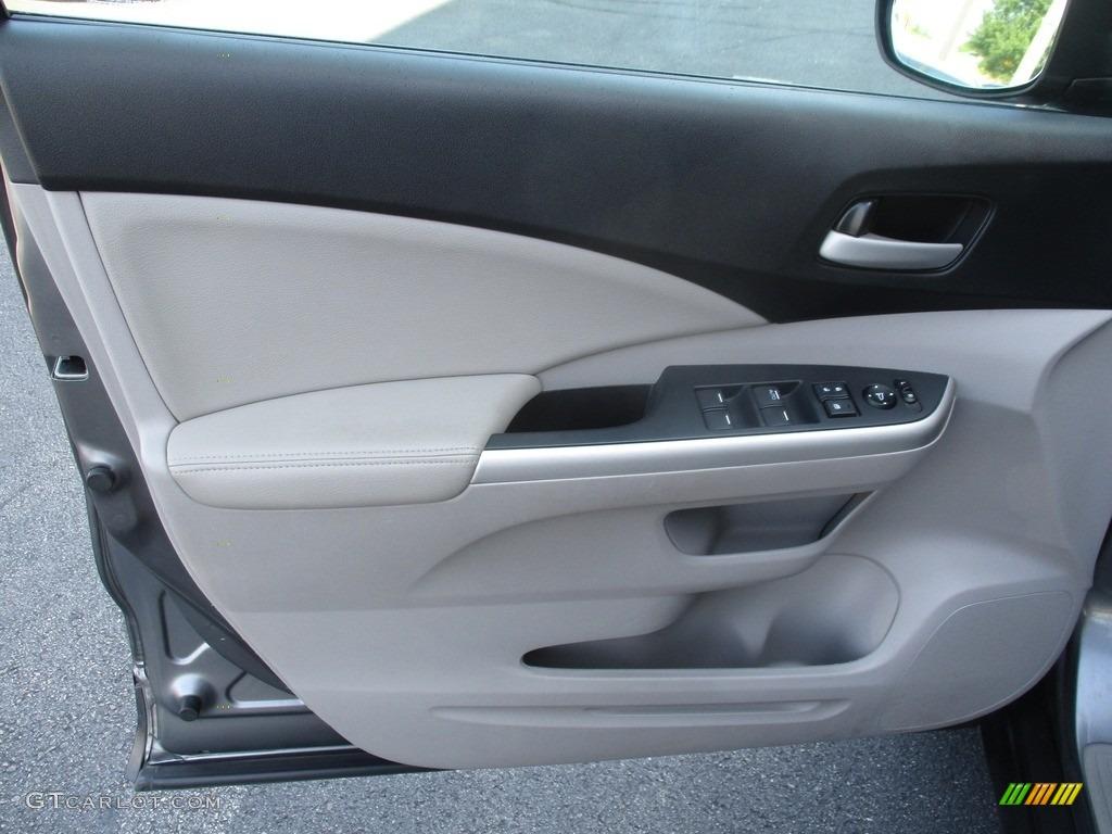 2012 CR-V EX-L 4WD - Urban Titanium Metallic / Gray photo #10
