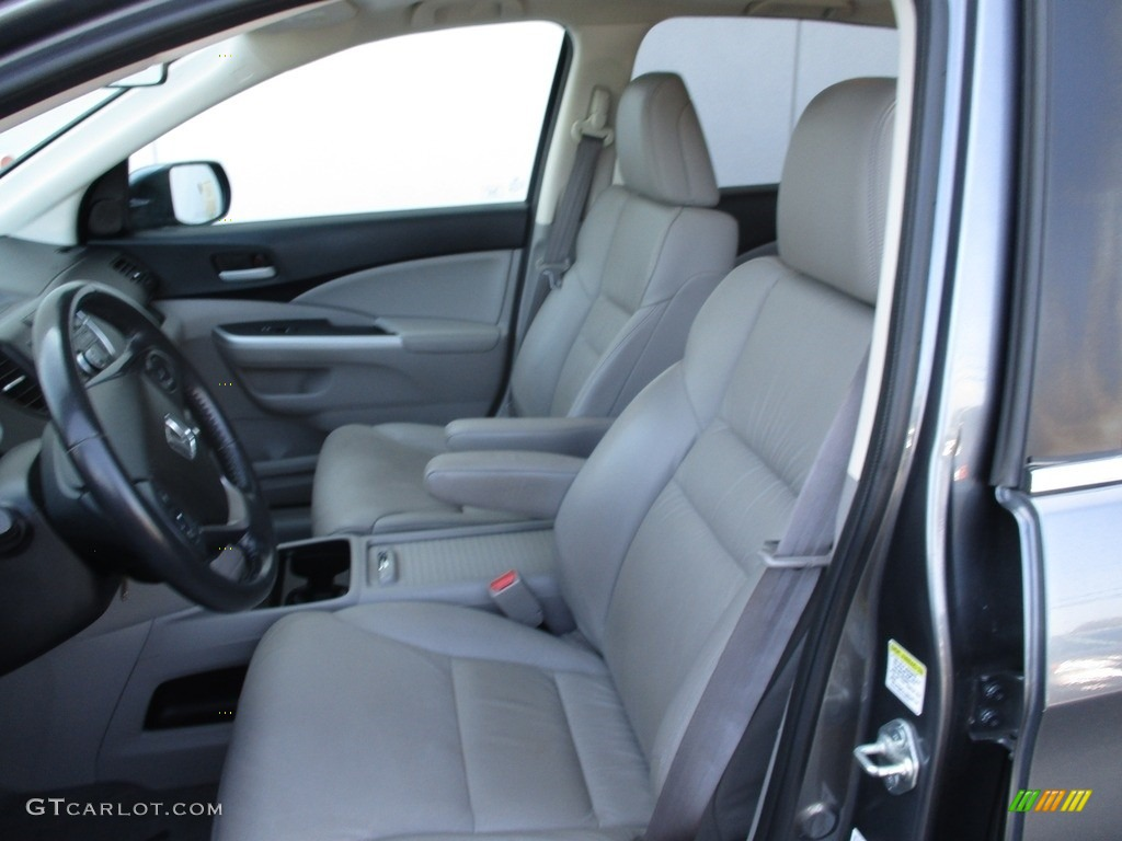 2012 CR-V EX-L 4WD - Urban Titanium Metallic / Gray photo #12