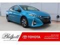 Blue Magnetism 2019 Toyota Prius Prime Advanced