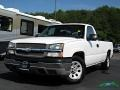 2005 Summit White Chevrolet Silverado 1500 Regular Cab  photo #1