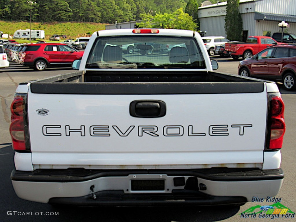 2005 Silverado 1500 Regular Cab - Summit White / Dark Charcoal photo #3