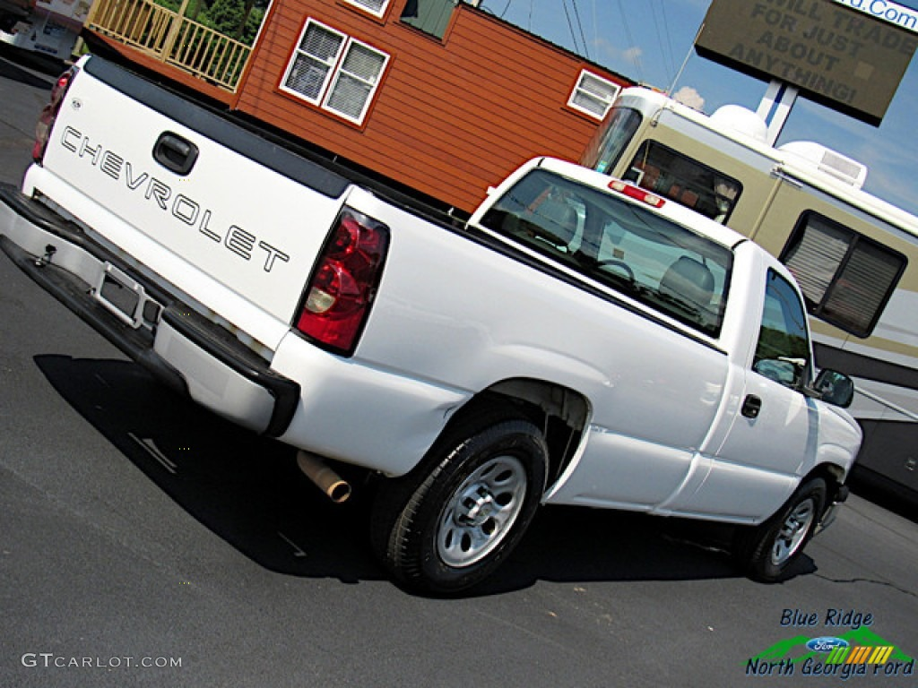 2005 Silverado 1500 Regular Cab - Summit White / Dark Charcoal photo #22