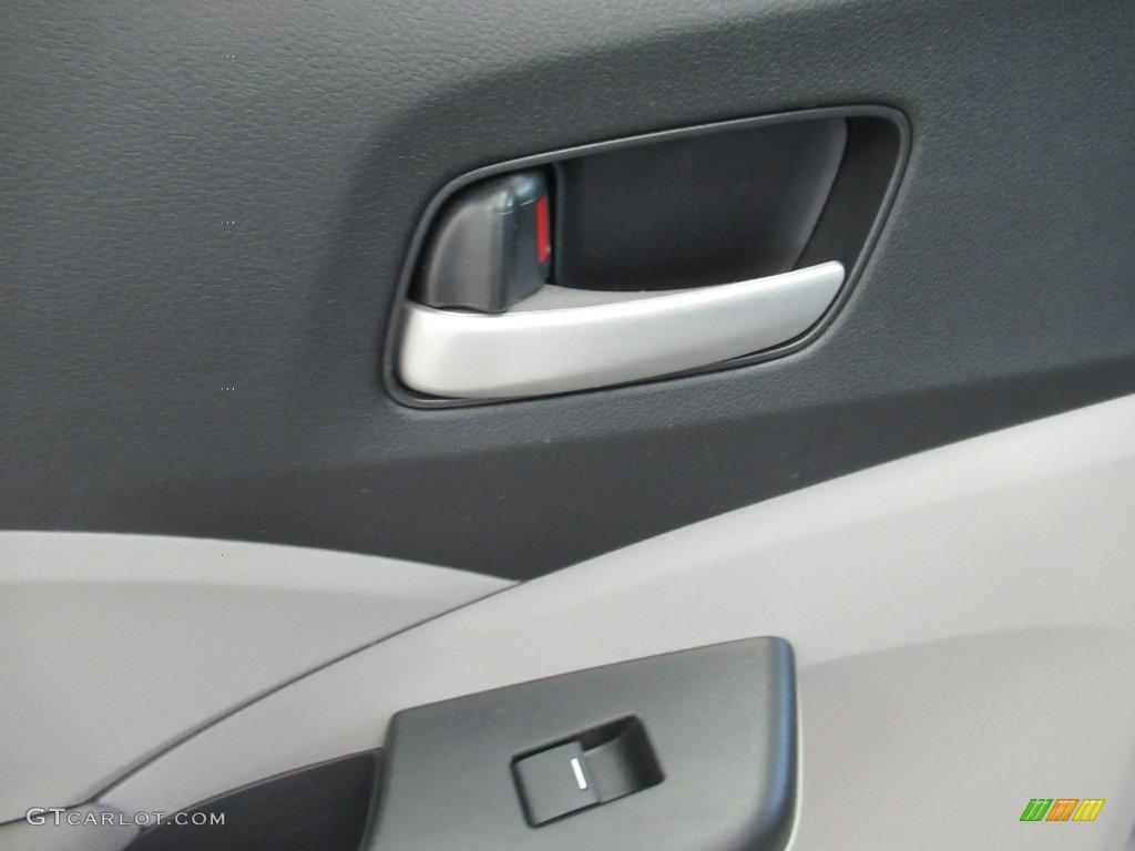 2013 CR-V LX AWD - Polished Metal Metallic / Gray photo #20