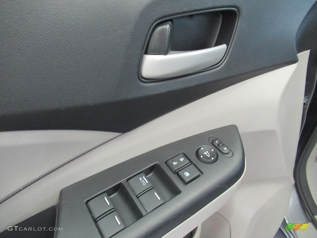 2013 CR-V LX AWD - Polished Metal Metallic / Gray photo #21