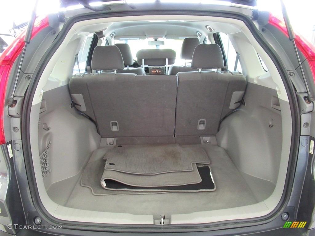 2013 CR-V LX AWD - Polished Metal Metallic / Gray photo #30