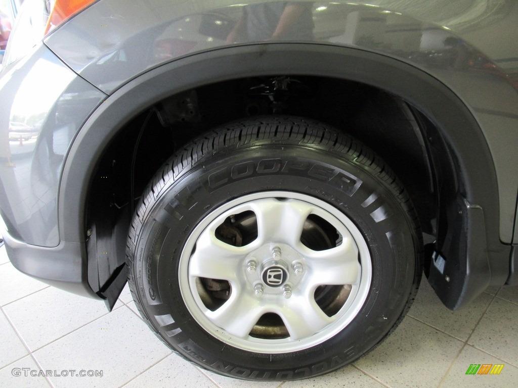 2013 CR-V LX AWD - Polished Metal Metallic / Gray photo #32
