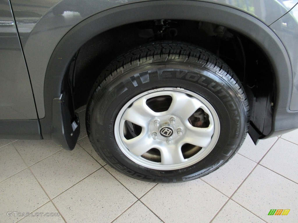 2013 CR-V LX AWD - Polished Metal Metallic / Gray photo #35