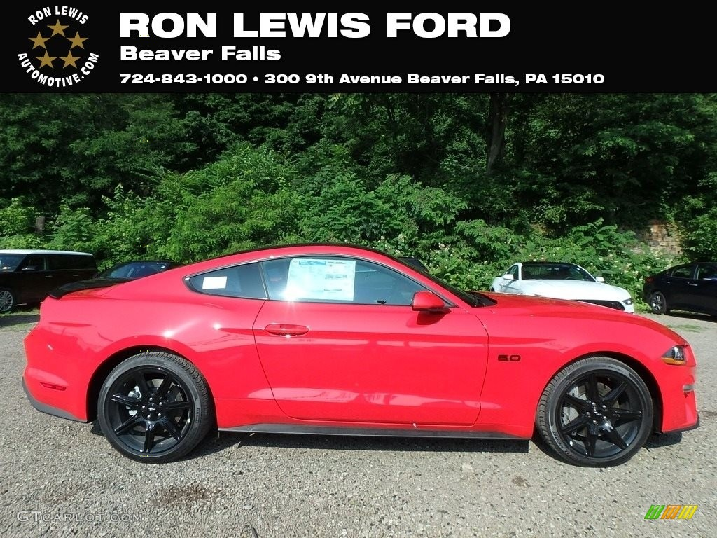 2019 Mustang GT Fastback - Race Red / Ebony photo #1