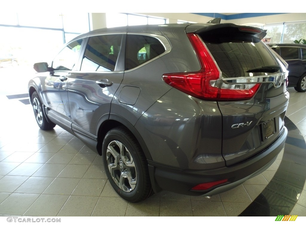2019 CR-V EX-L - Modern Steel Metallic / Gray photo #2