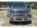 2005 Dark Shadow Grey Metallic Ford F250 Super Duty Lariat Crew Cab  photo #1