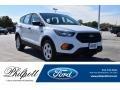 2019 Oxford White Ford Escape S  photo #1