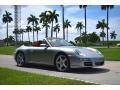2006 GT Silver Metallic Porsche 911 Carrera 4 Cabriolet #134247585