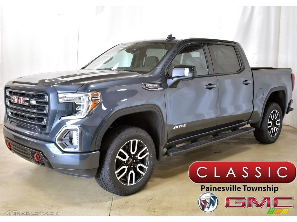 2019 Dark Sky Metallic Gmc Sierra 1500 At4 Crew Cab 4wd 134247538 Gtcarlot Com Car Color Galleries