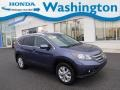 2014 Twilight Blue Metallic Honda CR-V EX-L AWD #134247419