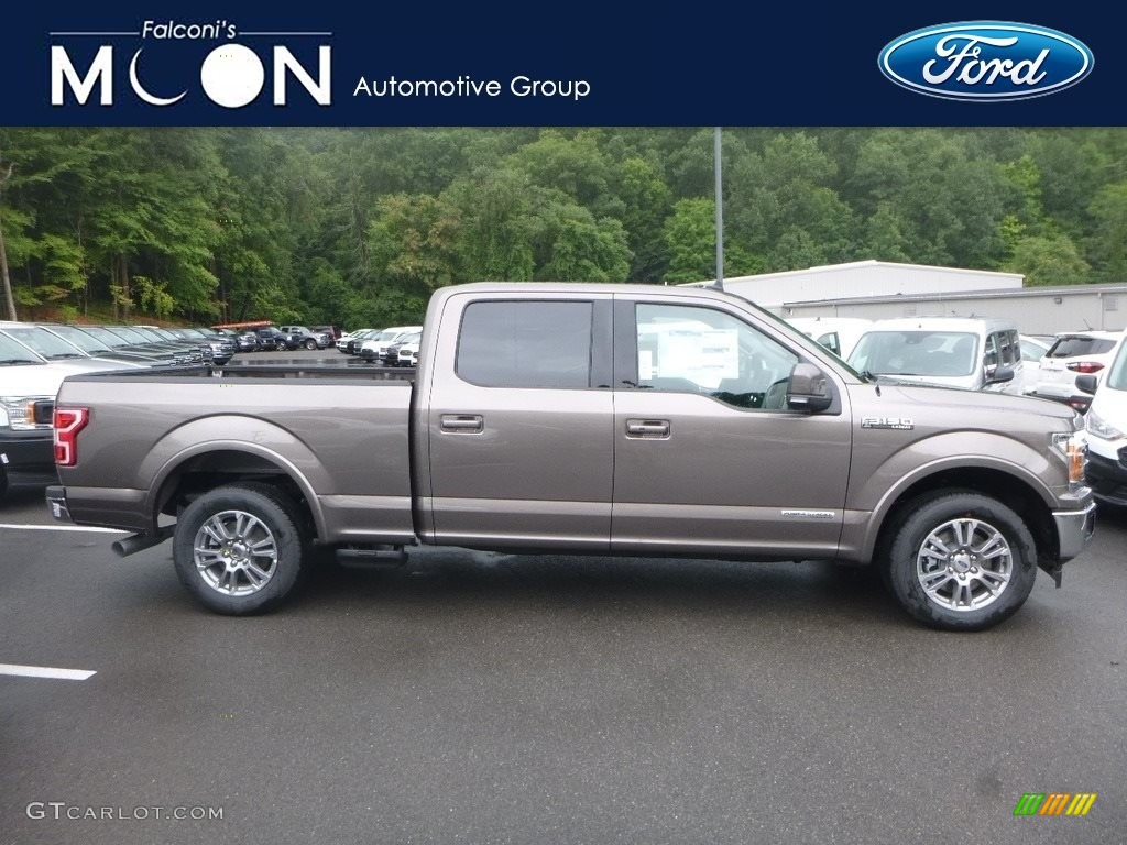 Stone Gray Ford F150