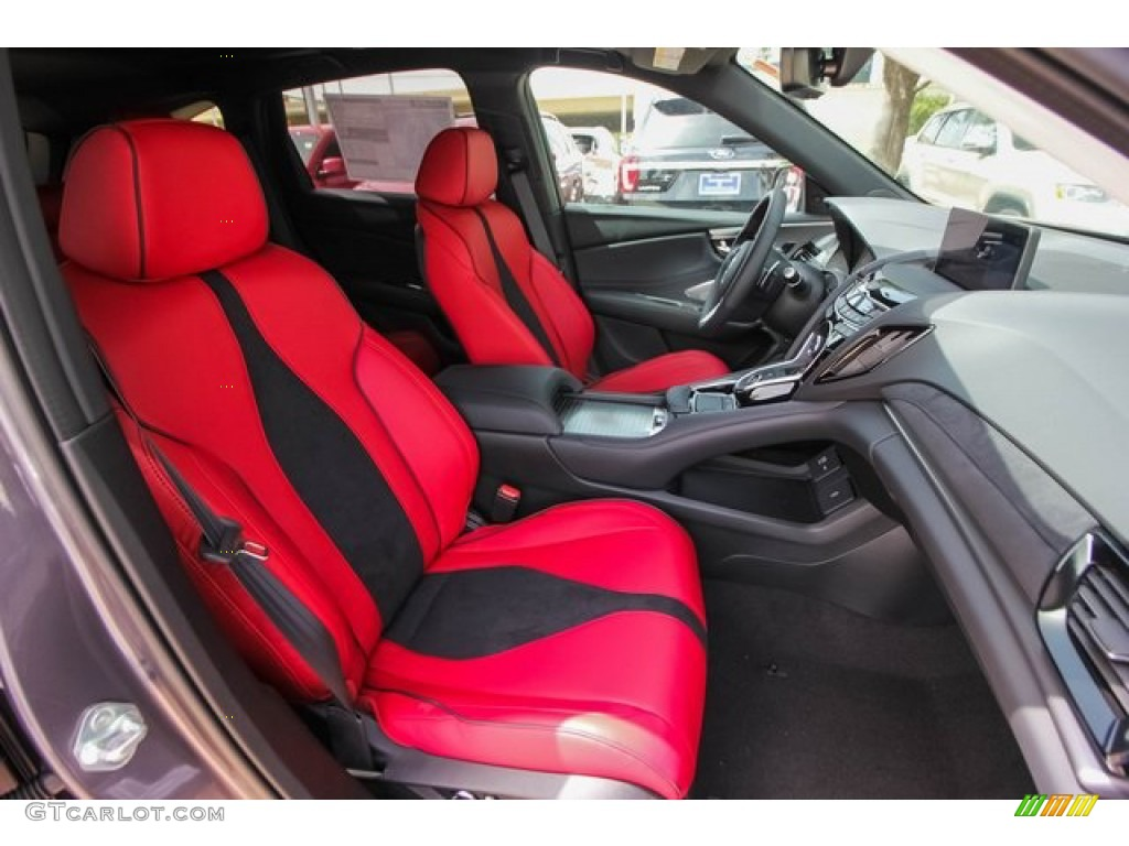 Red Interior 2020 Acura Rdx A Spec Photo 134265535 Gtcarlot Com