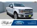 Oxford White 2019 Ford F150 Lariat SuperCrew 4x4