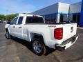 2017 Summit White Chevrolet Silverado 1500 Custom Double Cab 4x4  photo #4