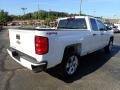 2017 Summit White Chevrolet Silverado 1500 Custom Double Cab 4x4  photo #8
