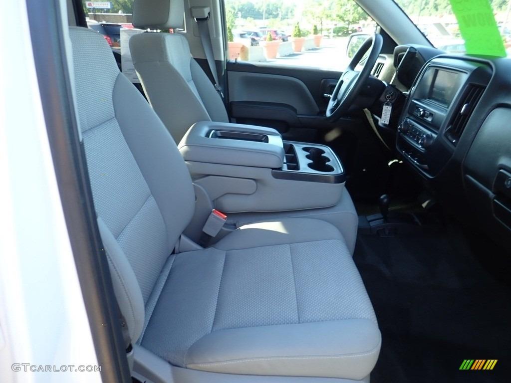 2017 Silverado 1500 Custom Double Cab 4x4 - Summit White / Dark Ash/Jet Black photo #14