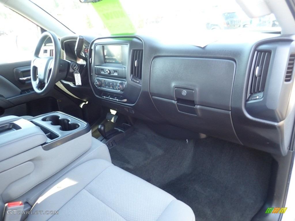 2017 Silverado 1500 Custom Double Cab 4x4 - Summit White / Dark Ash/Jet Black photo #15