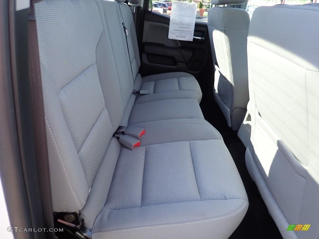 2017 Silverado 1500 Custom Double Cab 4x4 - Summit White / Dark Ash/Jet Black photo #17