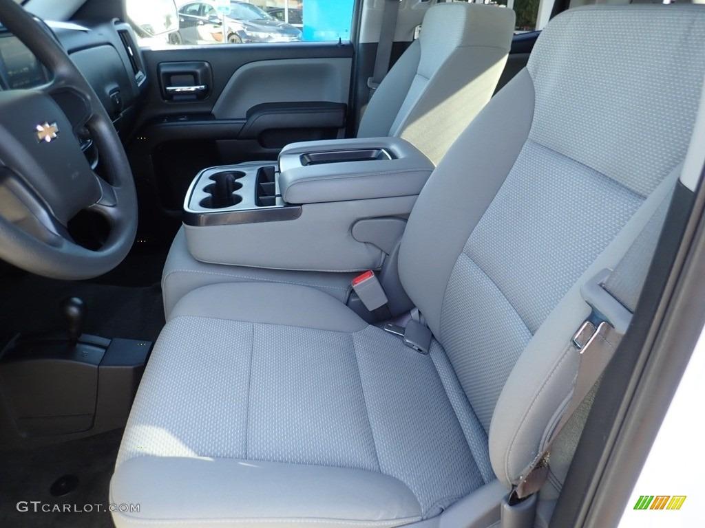 2017 Silverado 1500 Custom Double Cab 4x4 - Summit White / Dark Ash/Jet Black photo #21
